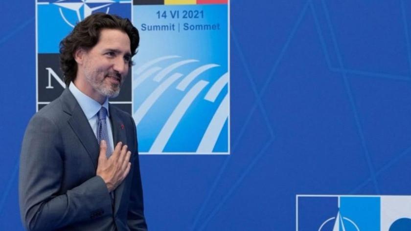 Kanada Başbakanı Trudeau, NATO Zirvesi'ne çoraplarıyla damga vurdu!