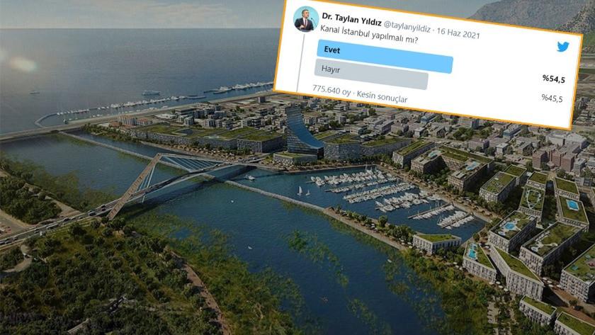 Taylan Yıldız'ı şaşkına uğratan Kanal İstanbul anketi