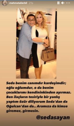 İki yakın dostun kavagasında son: Mehmet Ali Erbil'i tecavüzle suçlayan Seda Sayan geri adım attı! - Sayfa 2