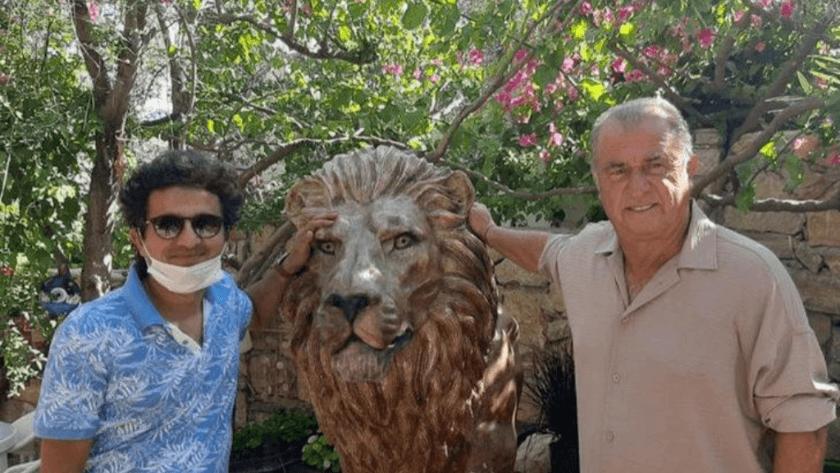 Teknik Direktör Fatih Terim evine aslan heykeli yaptırdı!