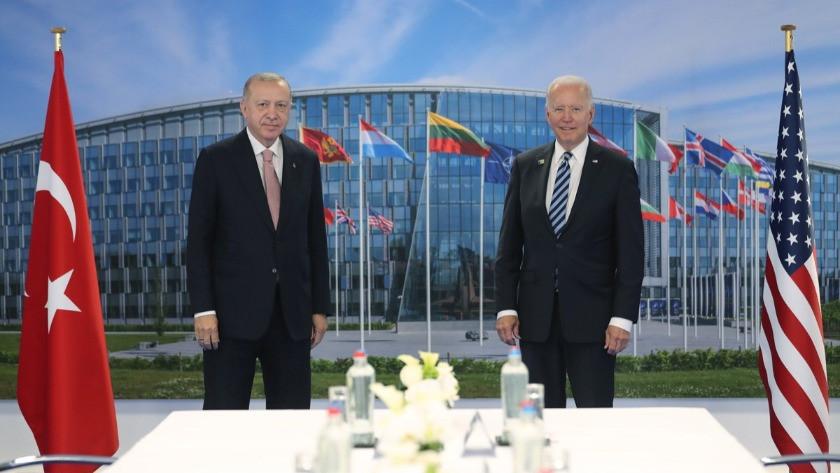 Cumhurbaşkanı Erdoğan: Biden ile mutabık kaldık