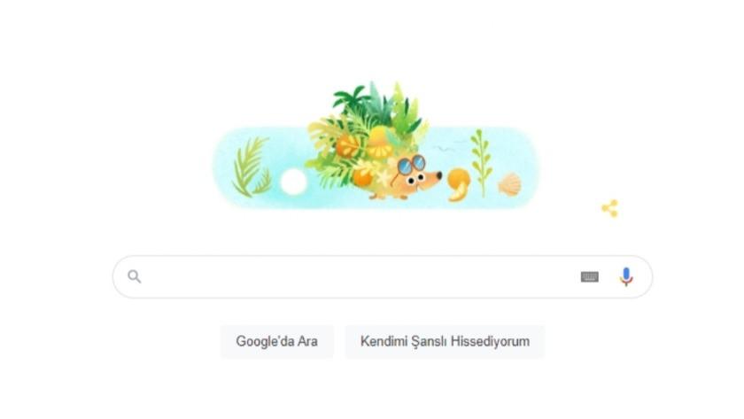 Google'dan Yaz 2021 Doodle'ı ! Yaz başladı !