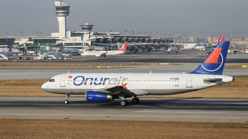 Onur Air'in uçakları icraya verildi, uçuşlar durduruldu