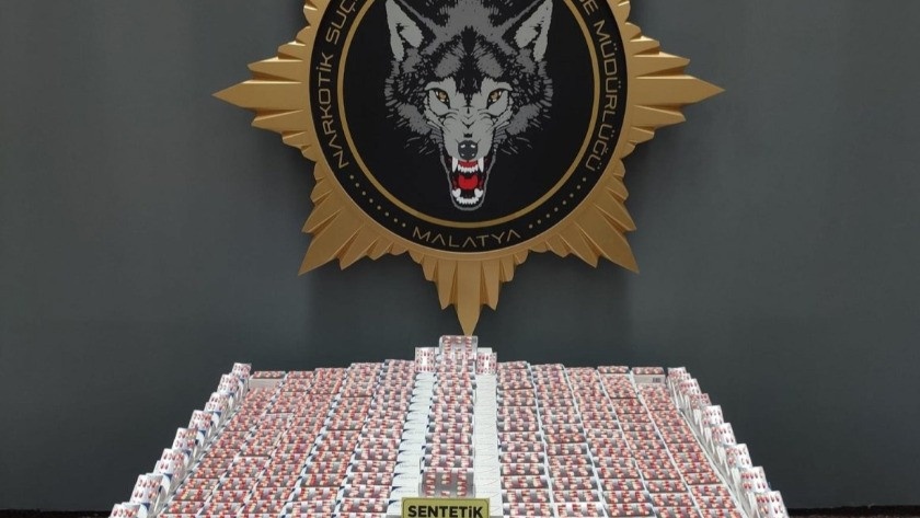 Malatya'da 1,5 milyon liralık uyuşturucu ele geçirildi