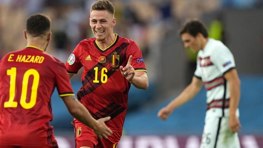 EURO 2020'de Belçika, Portekiz'i tek golle kupa dışına attı!