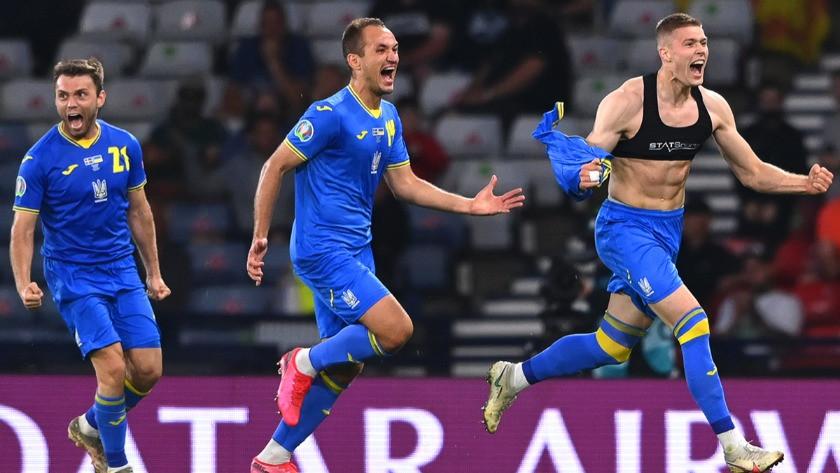İsveç'i 2-1 mağlup eden Ukrayna, çeyrek finalde