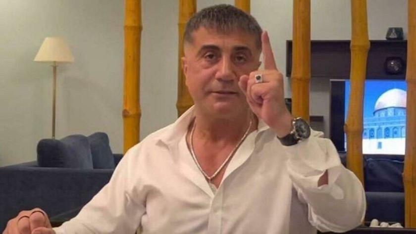 Sedat Peker'den 'organize suç örgütü' açıklaması: Bırak desinler