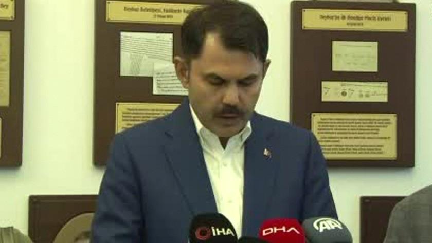 """Kurum: """"Marmara Denizi'ni en kısa zamanda eski haline getireceğiz"""""""