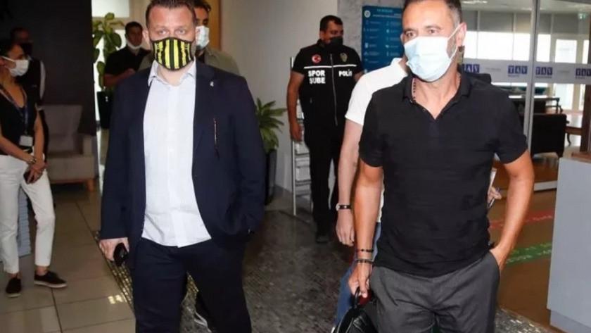 Vitor Pereira İstanbul'a indi !