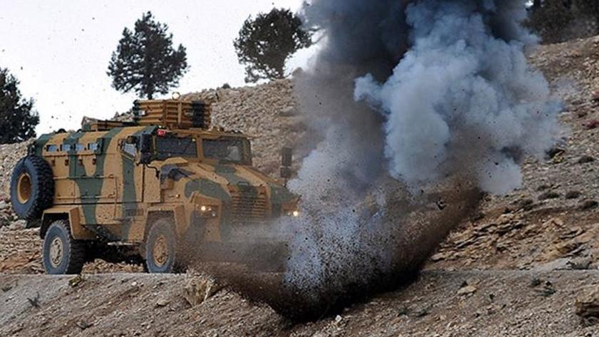 Siirt'te, askeri araca EYP'li saldırı!