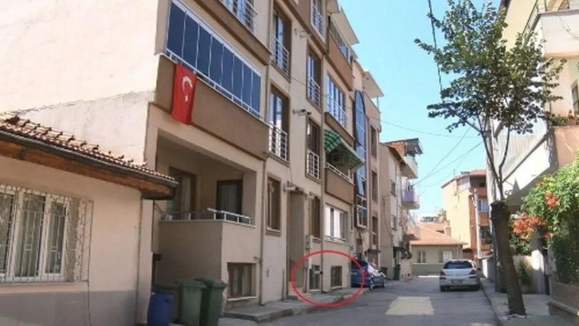 'Tosuncuk'un yurt dışına kaçmadan önce kaldığı ev görüntülendi