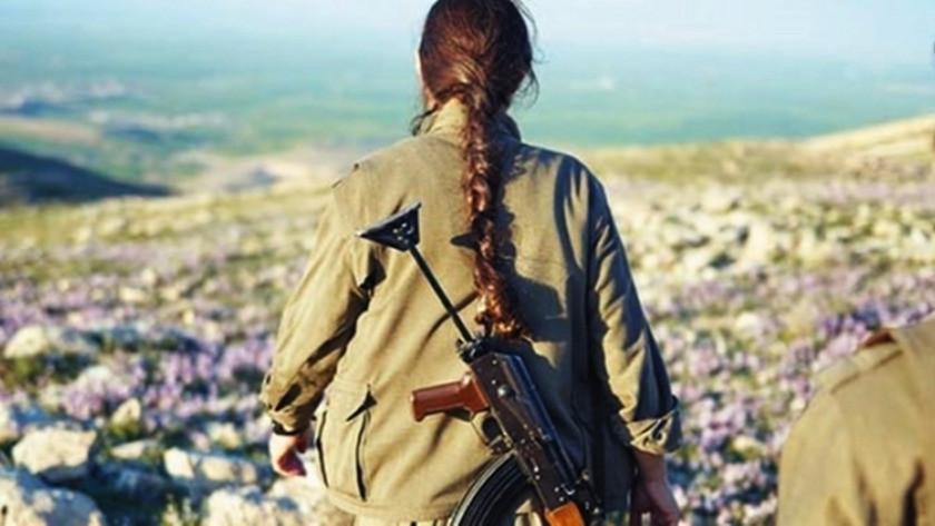 Şırnak'taPKK'lı kadın terörist jandarmaya teslim oldu