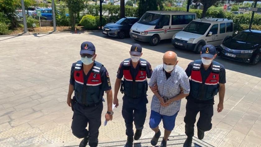 Fethiye'de hapis cezası bulunan 2 kişi jandarma tarafından yakalandı
