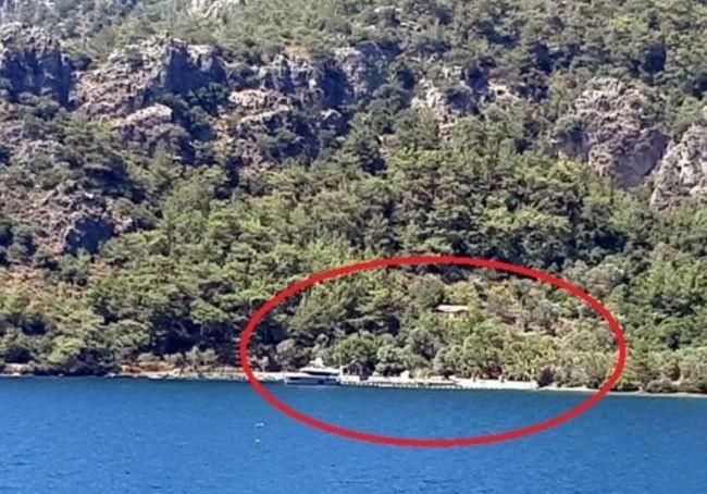 Ünlü komedyenin villasının bulunduğu koya inceleme! Kaçak iskele... - Sayfa 2