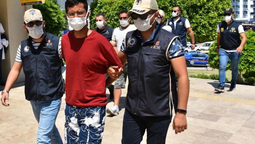 Yunanistan'a kaçmaya çalışan PKK'lı terörist, Marmaris'te yakalandı