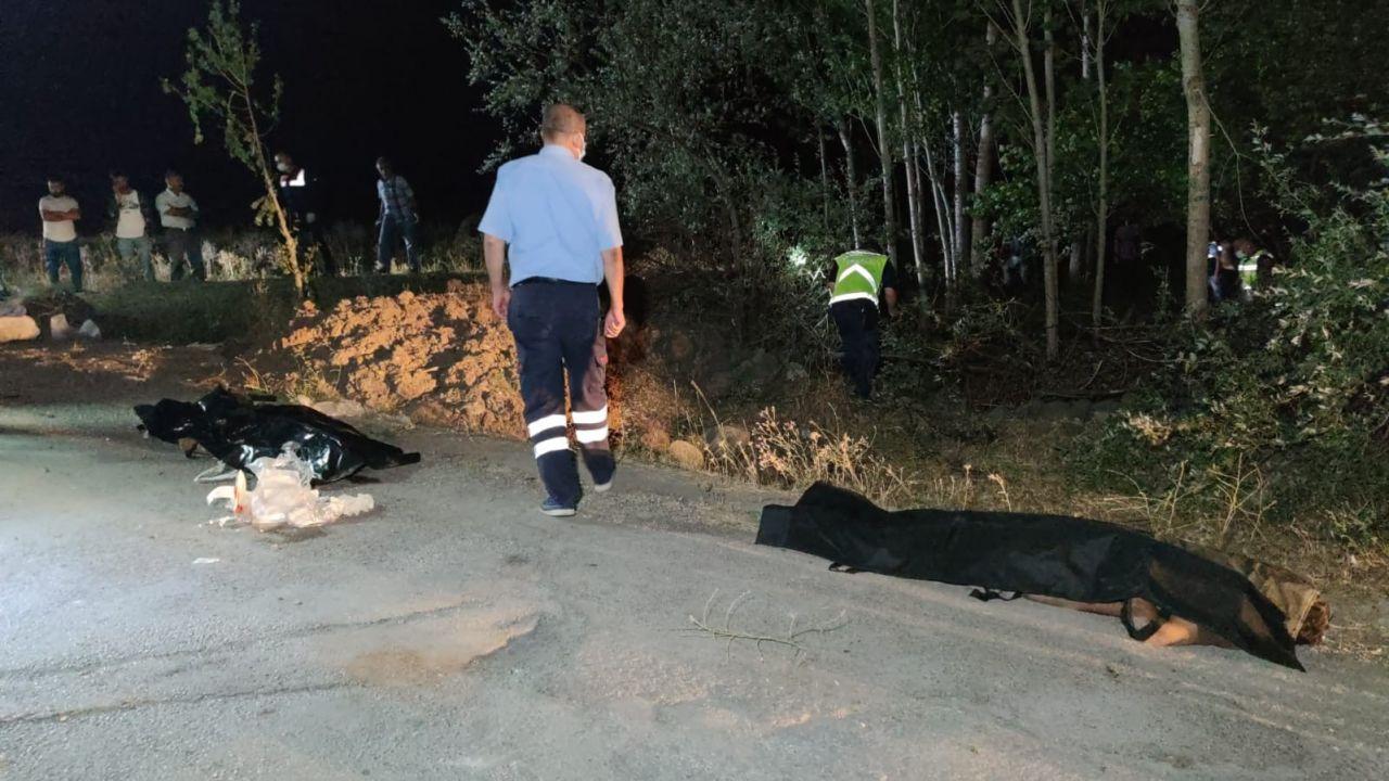 Van'ın Muradiye İlçesi'nde kaçak mülteci taşıyan minibüs kaza yaptı! Çok sayıda ölü ve  yaralı var - Sayfa 1