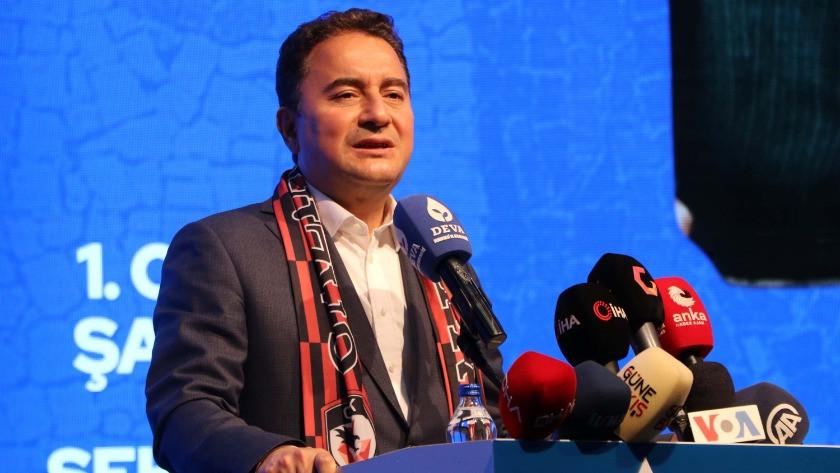 Ali Babacan Cumhurbaşkanlığı adaylığını açıkladı