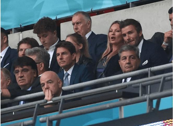 Tom Cruise, David Beckham, Prens William ve Kate Middleton euro2020 için tribünde - Sayfa 2