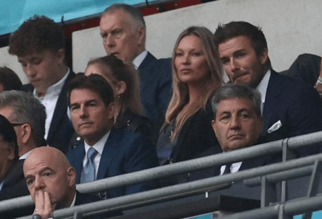 Tom Cruise, David Beckham, Prens William ve Kate Middleton euro2020 için tribünde - Sayfa 3