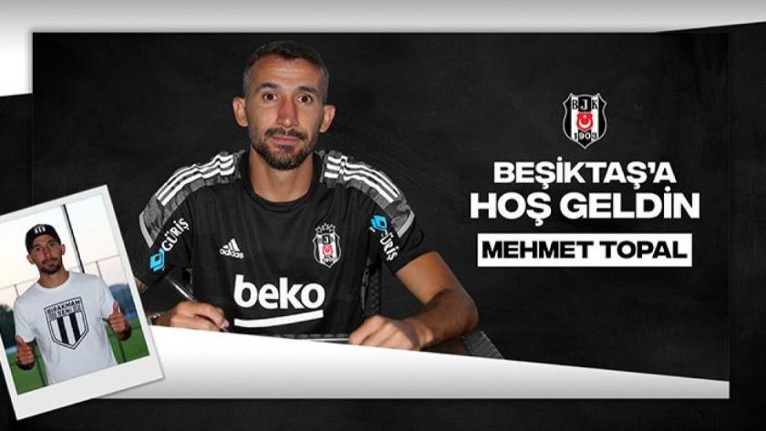 Mehmet Topal Beşiktaş'a imza attı