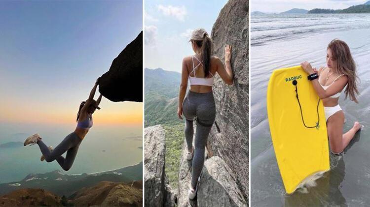 Selfie çekmek için kayalıklara çıkan Fenomen Sofia Cheung uçurumdan düştü! - Sayfa 1