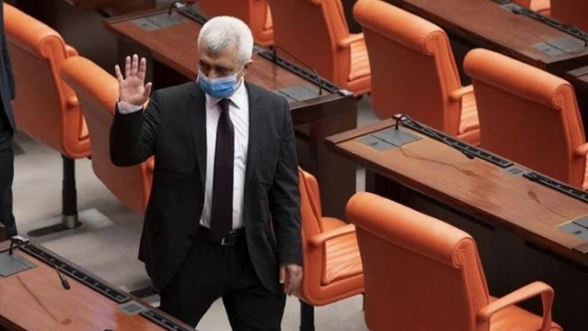 HDP'li Ömer Faruk Gergerlioğlu 4 ay sonra yeniden mecliste
