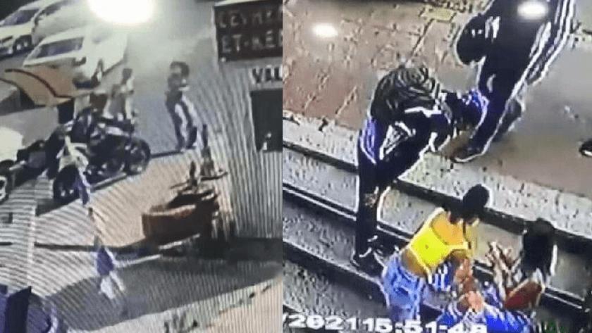 Başakşehir'de Genç kıza motokurye çarptı!