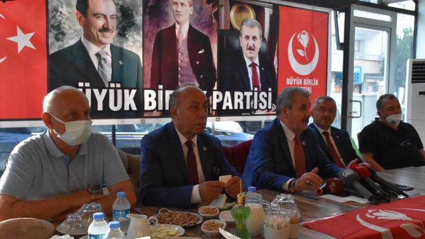 Destici: OHAL'in bir müddet daha Türkiye'de devam etmesinden yanayız