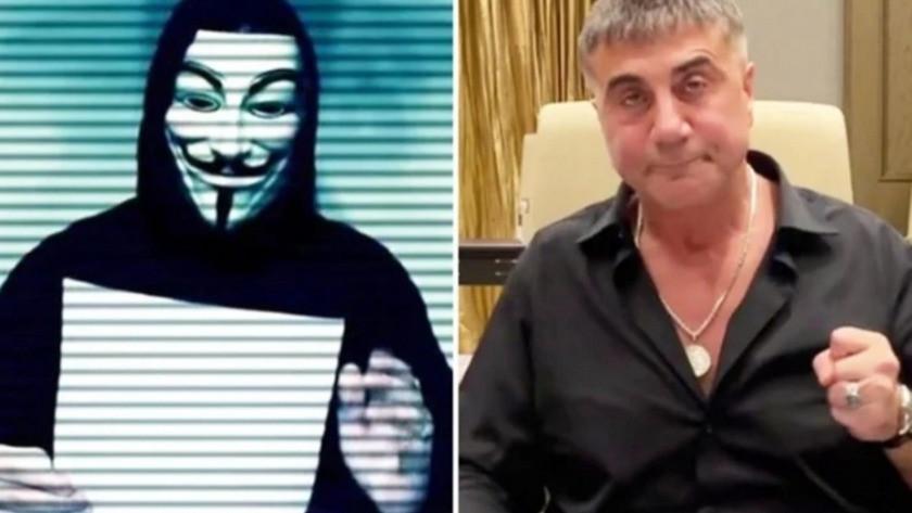 Dünyaca ünlü Hacker grubundan Sedat Peker'e cevap: 'Yürü git faşist'