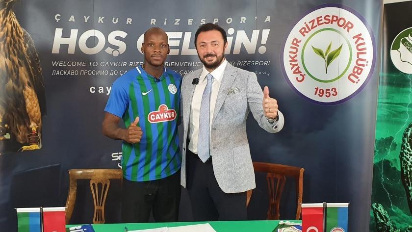 Çaykur Rizespor'dan 'Bryan Dabo' transferi!