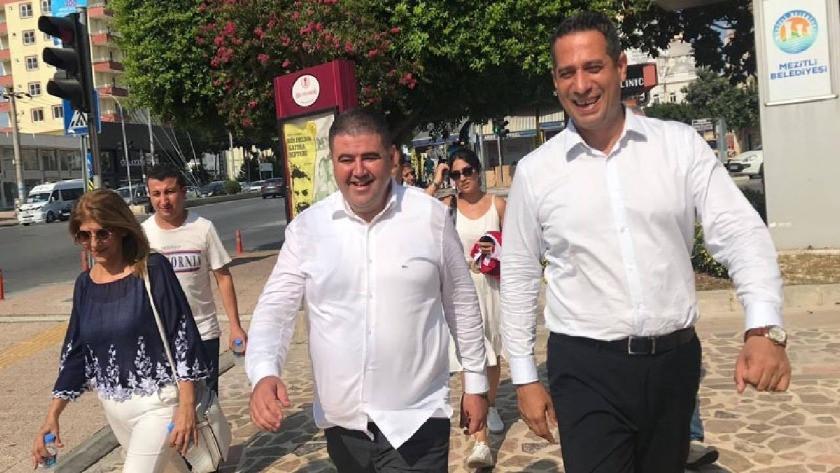 """CHP Mezitli İlçe Başkanı """"Cumhurbaşkanına hakaret""""ten gözaltına alındı"""