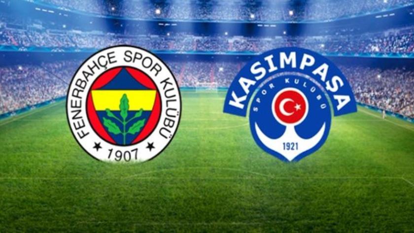 Fenerbahçe Kasımpaşa maçı hangi kanalda, ne zaman, saat kaçta?