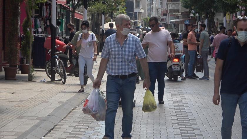 Kırklareli'nde bayram öncesi alışveriş kalabalığı