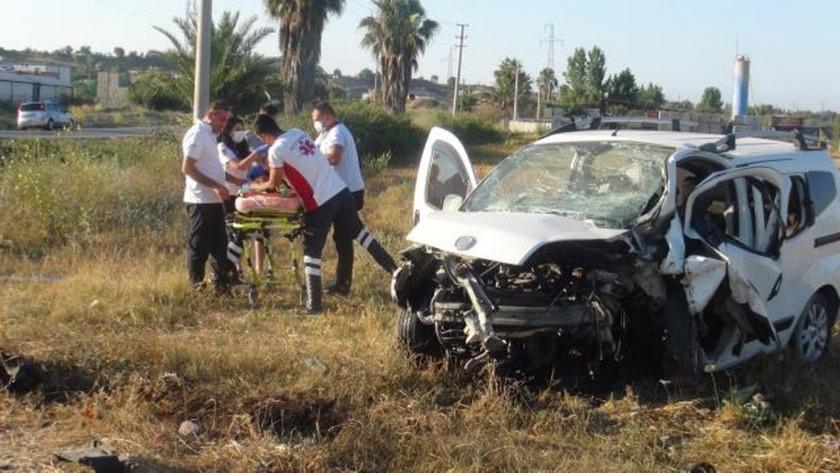 Antalya'da feci kaza: 1 ölü 3 yaralı!