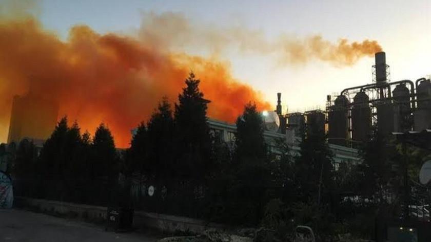 Rivne'de azot fabrikasonda dev patlama!