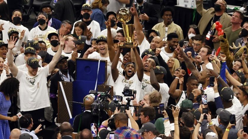 NBA'de sezonun şampiyonu belli oldu