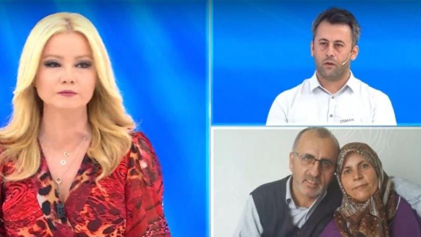 Müge Anlı'nın programında ailesinin katilini arayan Osman Büyükşen'den herkese gözdağı