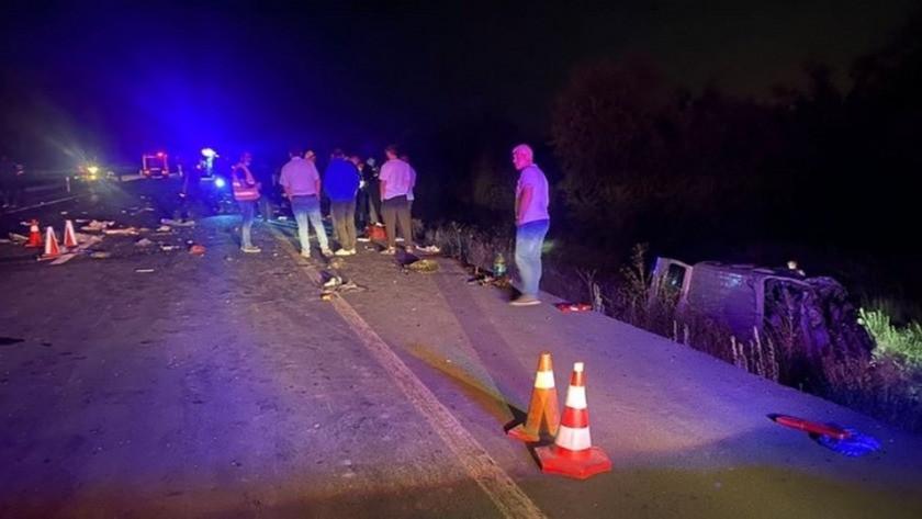 Afyonkarahisar'da korkunç zincirleme trafik kazası!