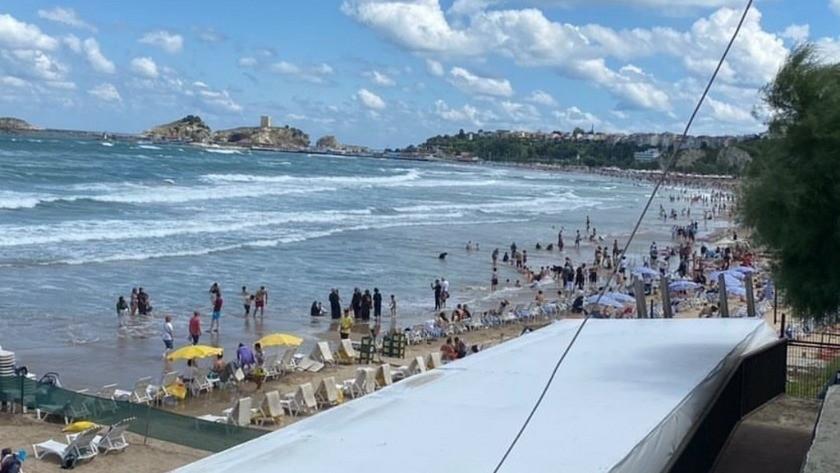 Şile'de denize girmek yasaklandı! Plajlar boşaltıldı