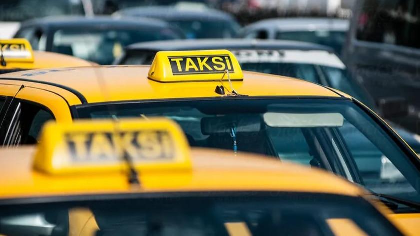 İstanbul Havalimanı'ndaki 400 taksi bağlandı!