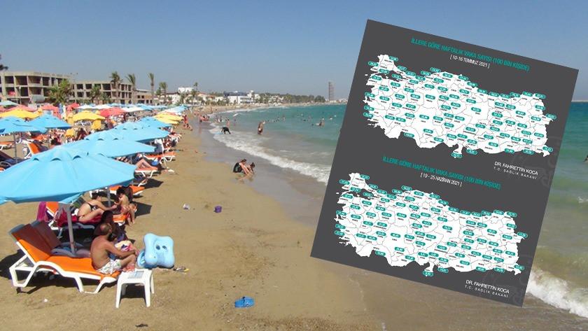 Türkiye Doğu Akdeniz'de vaka sayıları 3 kat arttı!