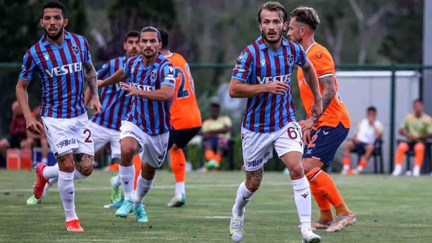 Trabzonspor-Başakşehir maçında gol sesi çıkmadı