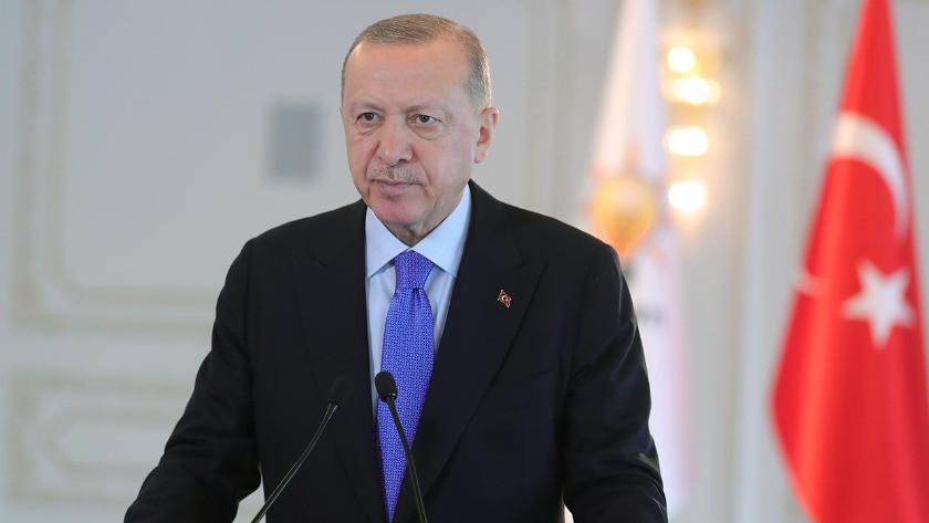 Cumhurbaşkanı Erdoğan'dan 'Ayasofya' paylaşımı