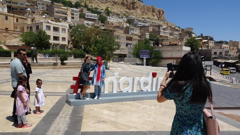 Mardin'e hafta sonu turistler akın etti