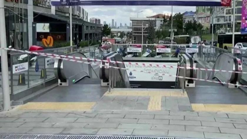 İstanbul metrosunda korkutan patlama