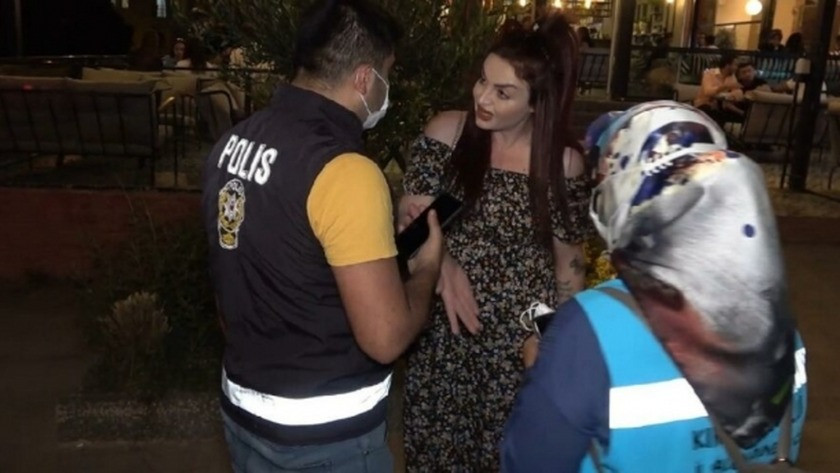 Israrla maske takmak istemeyen kadına verilen şok ceza!