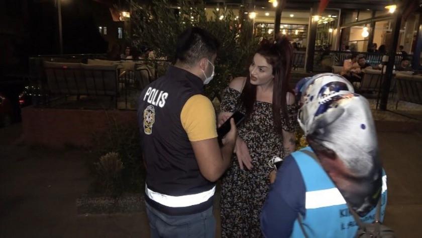 Israrla maskesini takmak istemeyen kadına bin 50 tl ceza uygulandı