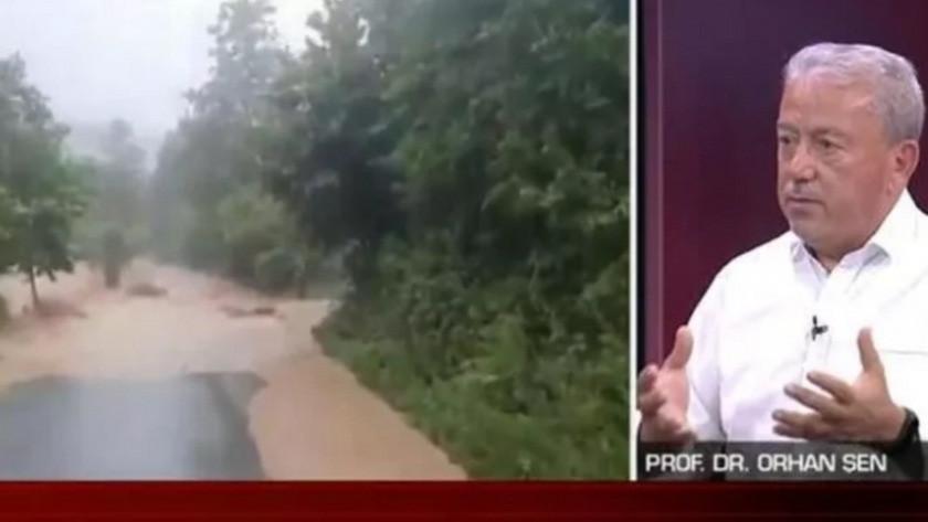 Prof. Dr. Orhan Şen'den Doğu Karadeniz için sağanak yağış uyarısı