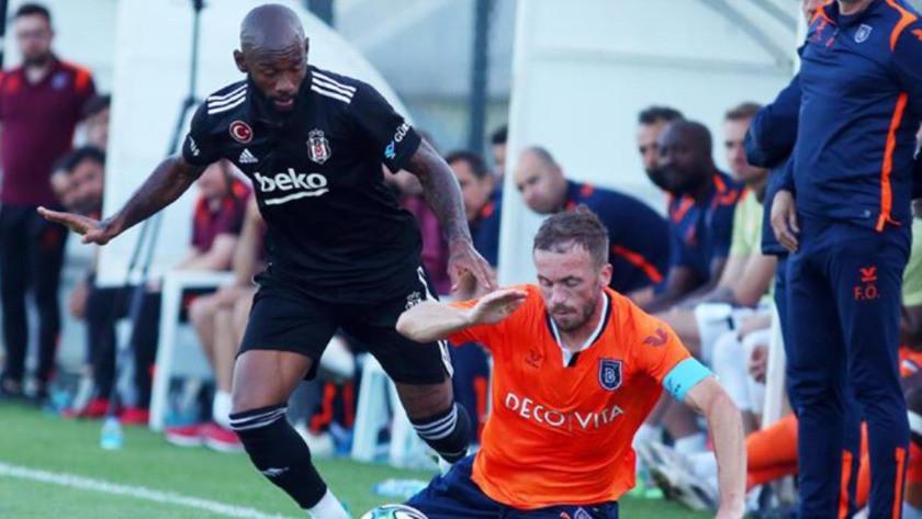 Beşiktaş hazırlık maçında Başakşehir'i 1-0 mağlup etti