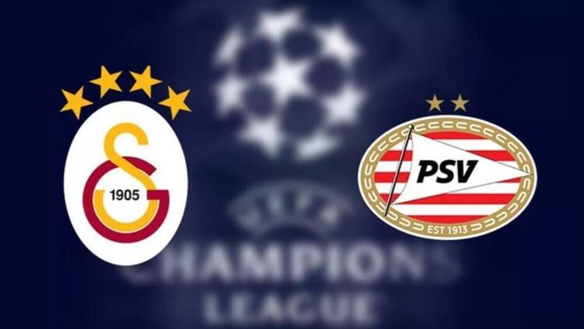 Galatasaray - PSV maçı ne zaman, saat kaçta, hangi kanalda?
